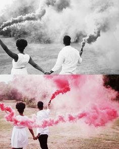 Smoke Bomb Gender Reveal Idea https://youtu.be/KGYZKBGFZf0