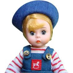 1989 Madame Alexander David 8 Inch Doll FAO Schwarz Special Events Exclusive