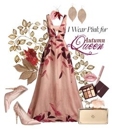 """""""Autumn queen"""" by huxmay ❤ liked on Polyvore featuring Lela Rose, Humble Chic, RALPH & RUSSO, Alexander McQueen, Bliss Studio, Lime Crime and IWearPinkFor"""