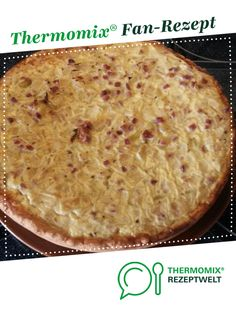 Onion cake for two from Nikki fish. A Thermomix ® recipe from the baking category www.de, the Thermomix ® community. Easy Crockpot Soup, Onion Pie, Fall Soup Recipes, Dinner Recipes, Quick And Easy Soup, Cheesecake, Easy Meals, Budget Dinners, Food Dinners