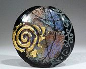 Fantasy- Art Glass 42mm Focal bead- lampwork by Astrid Riedel