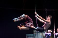 Circus Juventas Showdown  Avery and Rutger Duo Trapeze