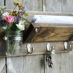 DIY Room Decor: How to Make a Mason Jar Bathroom Organizer