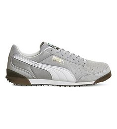 PUMA Trimm Quick Suede And Leather Trainers. #puma #shoes #trainers