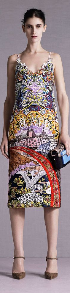 ➶ The Pattern that Pops ♠️ {Mix & match pattern pops} Mary Katrantzou Collection Resort 2015 | The House of Beccaria~