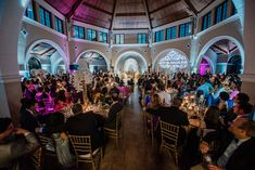 This Indian Wedding used the Orangery as a beautiful venue for their extremely fun reception! Photo by Peter Nguyen Studio