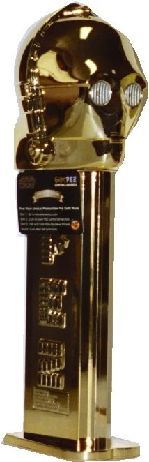 Star Wars C-3PO Pez Dispenser