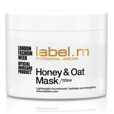 £13.39 Buy label.m Honey & Oat Treatment Mask (120ml) , luxury skincare, hair care, makeup and beauty products at Lookfantastic.com with Free Delivery.