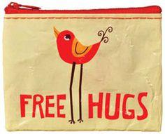 Porte monnaie Free Hugs et Mood Swing / Bianca and Family