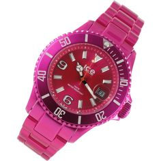 Ice Watch Alu - Pink - Unisex - AL.PK.U.A.12 Ice Watch 45232  http://www.tolle-uhren.de/ice-watch-alu-pink-unisex-al-pk-u-a-12/ice-watch/a-45232/