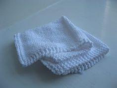 Preemie 12-inch Blanket Pattern