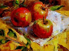 Art Talk - Julie Ford Oliver: Apple Trio and Techniques