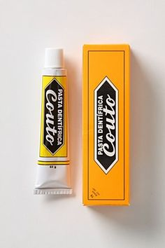 Couto Toothpaste Portuguese Vintage Brand