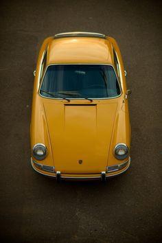 #porsche #911 #70s #classic #retro #yellow #sportscar #german