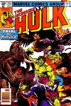 Incredible Hulk # 253 by Rich Buckler & Al Milgrom