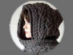 Love Wool DIY  Cuello capucha · Neck warmer   hood - YouTube Bufanda Mujer 4fe07fc1e4