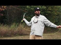 How to Hold Your Line Hand During a Cast - YouTube