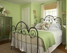 shabby chic green bedroom walls   to decorate bedroom with shabby chic don t hesitate to put carving ...