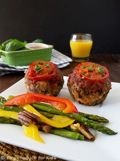 Healthy Gluten-Free Meatloaf Muffins with Zesty Italian Flavors