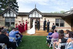 Lindsay & Jake #wedding at the Bow Valley Ranche Restaurant. Photo Credit @EmilyExon #yycwedding http://www.emilyexon.com/