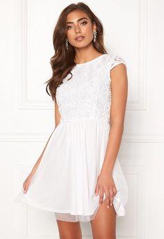 BUBBLEROOM Ayla dress White - Bubbleroom