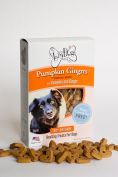 Pumpkin Gingrrs - Crunchy Baked with Pumpkin and Ginger.
