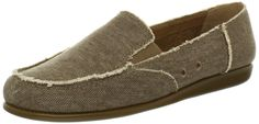 Aerosoles Women's So Soft Loafer,Mid Brown Fabric,5.5 M US