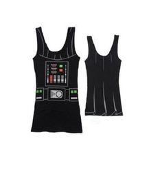 Star Wars I Am Darth Vader Junior's Tunic Tank Dress #starwars #fashion #tank #shirt #tees #women's #darkside #empire