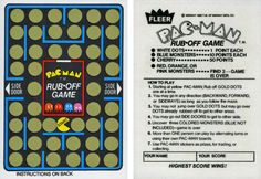 Pac-Man trading card