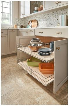 Small Kitchen Remodeling Rev-A-Shelf 5330 Series 36 Inch Pull Out Base Organizer with One She Maple Base Cabinet Organizers Pull Out Organizers Shelves - Classic Kitchen, Farmhouse Style Kitchen, Modern Farmhouse Kitchens, New Kitchen, Cool Kitchens, Kitchen Decor, Kitchen Ideas, Kitchen Inspiration, Awesome Kitchen