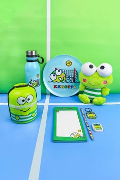 Perfect for Sanrio fans and athletic types alike, snuggle up with your favorite Keroppi in his sporty swim gear. This plush stuffed frog toy, featuring his recognizable bulging eyes framed by swim goggles along with a stripy swimsuit, is a cute way to celebrate the spirit of sportsmanship. #worldmarket #hellokitty Swimming Gear, Hello Kitty Collection, Shopping World, Affordable Home Decor, World Market, Sanrio, Your Favorite, Unique Gifts, Bucket Lists