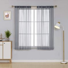Deconovo Sheer Curtains - CountryCurtains Curtain Rods, Interior Decorating, Interior Design, Smart Design, Sheer Curtains, Rod Pocket, Soft Furnishings, Minimalist Design