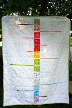 I stumbled across this quilt today thanks to @Kate Betancourt...now I can't stop thinking about it! *so so cool*