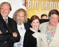 Jeff Bridges channels The Dude at The Big Lebowski Blu-ray release party