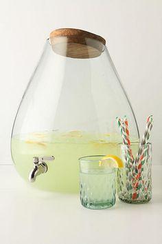 Bubbled Beverage Dispenser - anthropologie.com