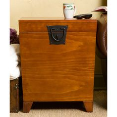 Charming Southern Enterprises Pyramid Trunk End Table   CK1225T | Products, Trunks  And Tables