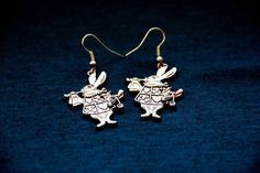 Alice Rabbit Earrings