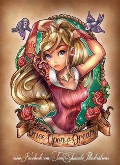 Disney Princess Pin Up