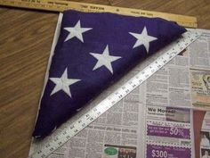 How to make a display case for a Military Honors Flag ~ Instructables. #DIY www.operationwearehere.com/craftssewingetc.html