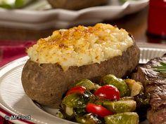 Double Stuffed Potatoes | mrfood.com