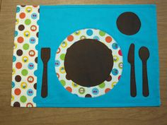 Fruit 'n Dots Montessori-Style Children's Reversible Placemat