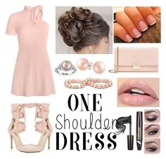 """1shoulder dress"" by kaykaydabosss on Polyvore featuring Bling Jewelry, Miss Selfridge, Furla and Miadora"