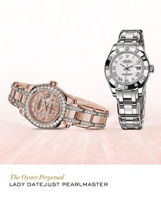 Rolex Lady-Datejust Pearlmaster #RolexOfficial