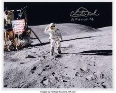 レイム・オー コレクション: 2020 November 21 - 22 Space Exploration Signature Auction Apollo 16, World War Two, Leadership, America, Explore, Duke, Moon, Engineers, Pilots