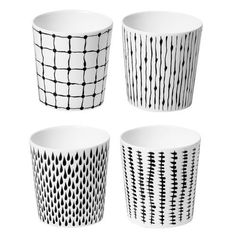 Bono mug 25 cl, 4 pack - Design House Stockholm