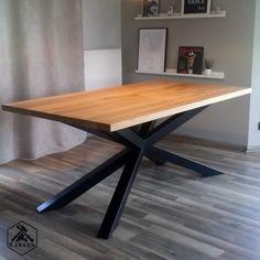 RTV Dąb loft – Karaon.eu Office Desk, Diy Furniture, Dining Table, Pure Products, Furnitures, Loft, Home Decor, Dining Room, Metal Flowers