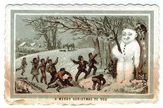 vintage snowman - Google Search
