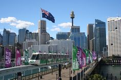 Sydney Mono Rail, Sydney, Australia. Visit China, Darling Harbour, Big Country, Small Island, Travel Abroad, Sydney Australia, Far Away, Seattle Skyline, Great Britain