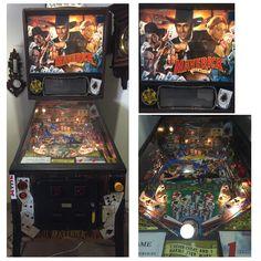 Maverick Pinball Furniture Restoration, Pinball, Restoring Furniture