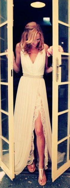 Charming Prom Dress,Chiffon Prom Dr